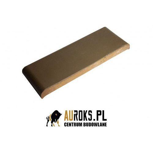 Kształtka płaska z kapinosem kp30k kolor brąz angoba 305x110x25 mm marki Gołowczyński