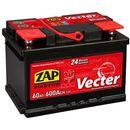 Akumulator ZAP Vecter 60Ah 600A PRAWY PLUS
