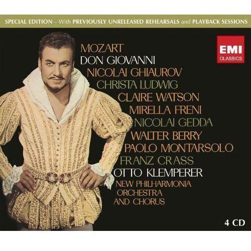DON GIOVANNI - Klemperer, Schwarzkopf, Philh.o. (Płyta CD) (5099970448320)