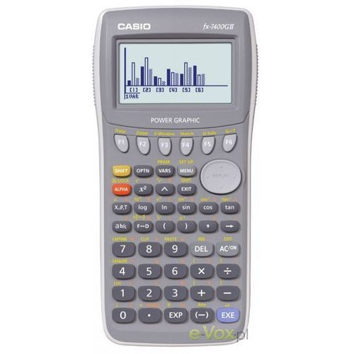 Kalkulator CASIO FX-7400G II z kategorii Kalkulatory