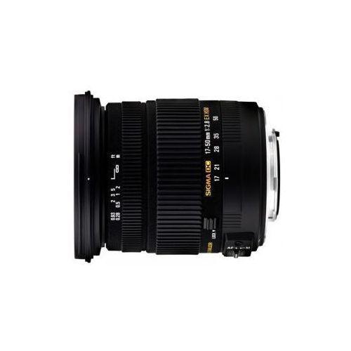 Sigma 17-50 mm f2.8 ex dc os hsm uv obiektyw z filtrem mocowanie nikon