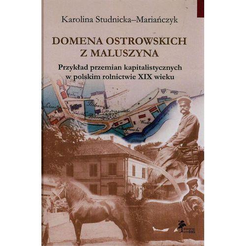 Domena Ostrowskich z Maluszyna Przykład przemian kapitalist., Karolina Studnicka-Mariańczyk