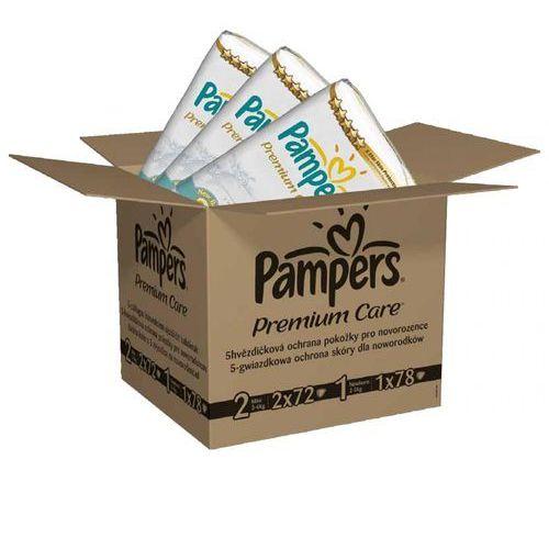 Pampers premium care pieluchy 1 newborn + 2 mini 168 szt. (4015400817659)