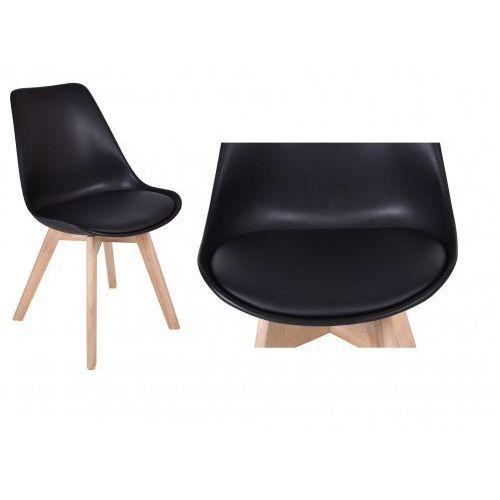 Gockowiak Krzesło nantes - czarno-czarne