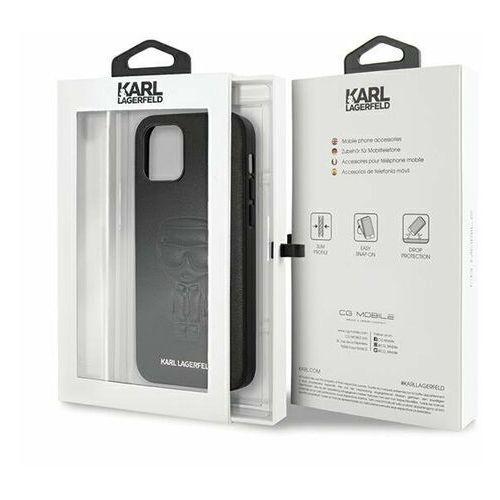 """Karl Lagerfeld KLHCP12MPCUIKBK iPhone 12/12 Pro 6,1"""" czarny/black hardcase Karl Ikonik Outline"""