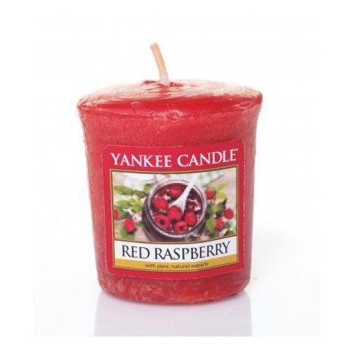 Yankee candle red raspberry świeczka zapachowa unisex 49g (5038580061512)