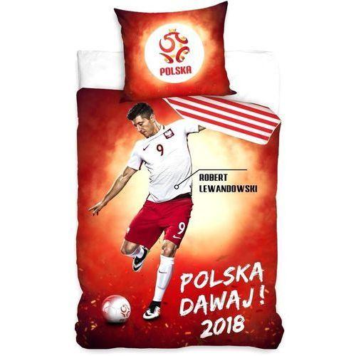 Pościel Piłkarska 160x200 PZPN Lewandowski piłka (5902689411519)