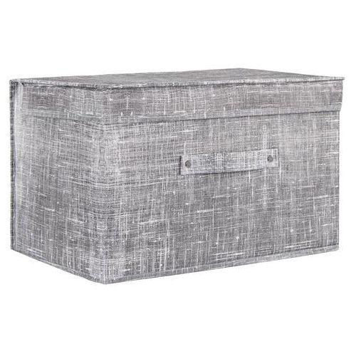 Pudełko do przechowywania 25x40x30cm organizer zamykany szary (5907719405544)