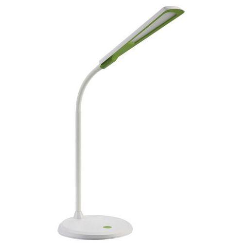 Lampa biurkowa Polux LED Sparta 5W BIAŁY/ZIELONY 3000K, 301482