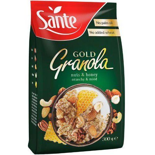 Granola Gold orzechowa 300g - Sante