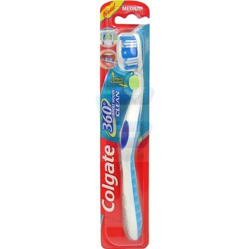 Colgate  360 whole mouth clean średnia  do zębów