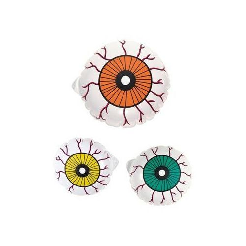Unique Dekoracja dmuchana oko - 10 cm - 3 szt.