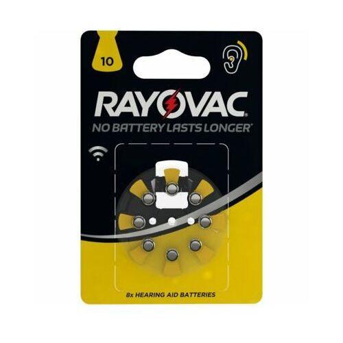 Varta baterie do aparatów słuchowych Rayovac HAB 10 8pack 4610745418 (5000252003809)
