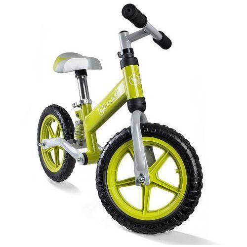 Rowerek biegowy KinderKraft Evo NAVY - amortyzowany z kategorii Rowerki biegowe