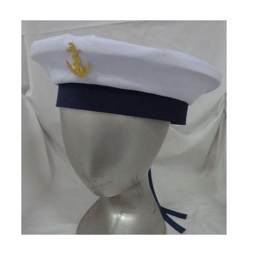 Czapka Marynarska, przebrania/kostiumy , obwód 56-58 cm