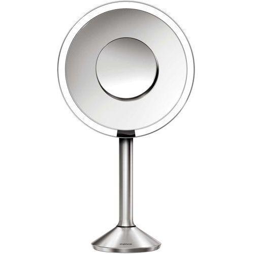 sensoryczne lustro ścienne z oświetleniem pro led tru-lux, 5/10-krotne powiększenie marki Simplehuman