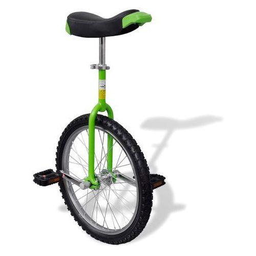 vidaXL Zielony unicykl, 20 cali (8718475918127)