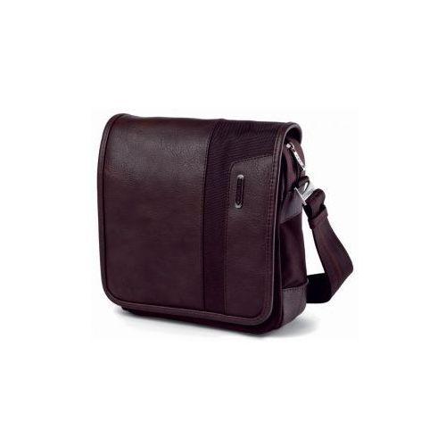 Roncato torba na ramię podręczna typu messenger z klapą kolekcja PANAMA materiał Nylon 840 d + PVC