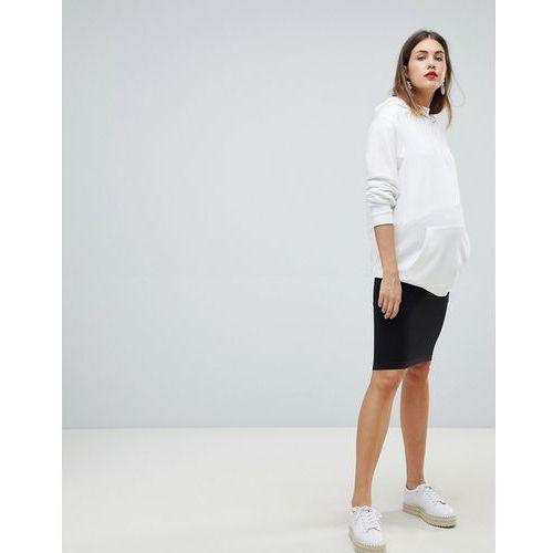 Mamalicious Seamless Tube Skirt - Black, 1 rozmiar