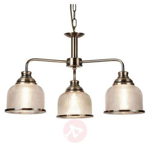 Klasyczna-antyczna lampa wisząca Bistro II (5053423095127)