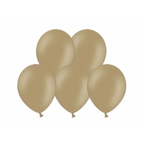"Party world Balony 12"" strong, jasno brązowe, cappuccino, pastelowe 10 szt. (5902230717763)"
