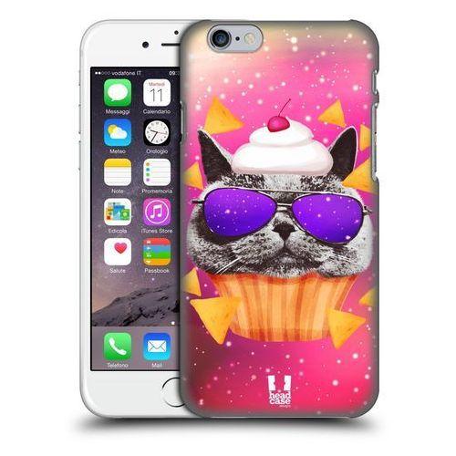 Head case Etui plastikowe na telefon - realistic cats in artificial space grey british cat cupcake and nachos