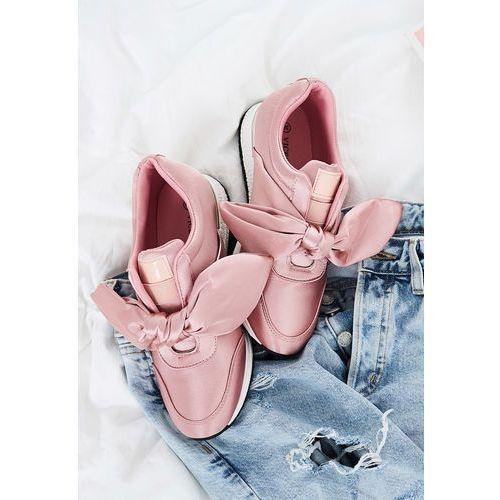 Różowe Buty Sportowe Runaway, kolor różowy