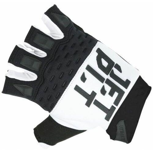 Rękawice na skuter jet pilot matrix rx race glove-short finger 2019 white/black marki Jetpilot