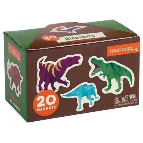zestaw magnesów - dinozaury marki Mudpuppy