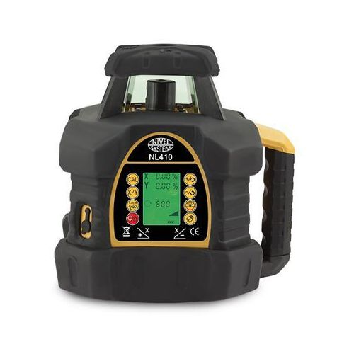 Niwelator laserowy Nivel System NL410 (+ statyw + łata)