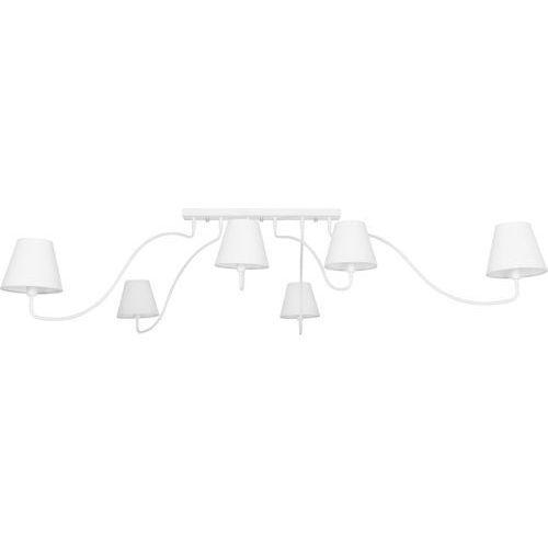 Nowodvorski Plafon swivel 6546 lampa sufitowa 6x40w e14 biały (5903139654692)