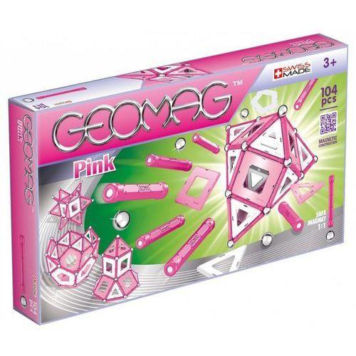 Klocki GEOMAG Pink 104 elementy