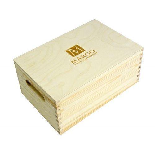 Firmowy drewniany kufer 30 x 20 x 13,5 cm, bez zawartości