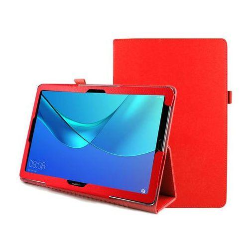Etui stojak Huawei MediaPad M5 10.8 / M5 Pro Czerwone - Czerwony