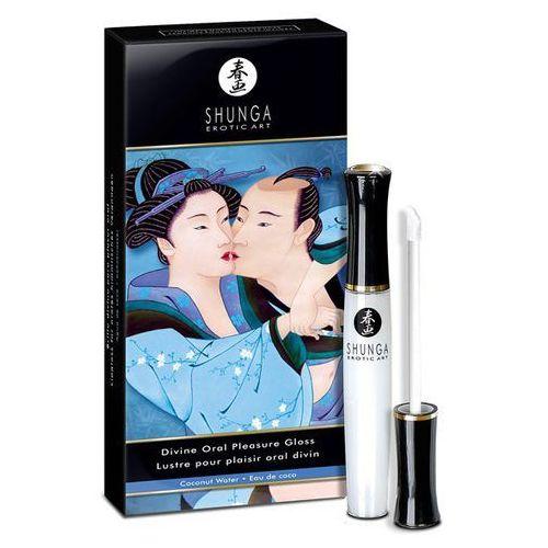 Błyszczyk do ust - Shunga Divine Oral Pleasure Gloss Coconut, SN028A