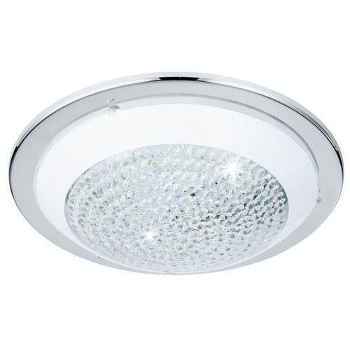 Plafon Eglo Acolla 95641 lampa sufitowa 1x16W LED chrom/biały, kolor biały,
