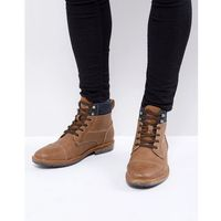 simoneau lace up boots in tan - tan, Call it spring