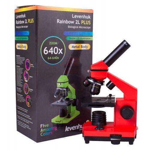 Levenhuk Mikroskop  rainbow 2l plus orange\pomarańcza