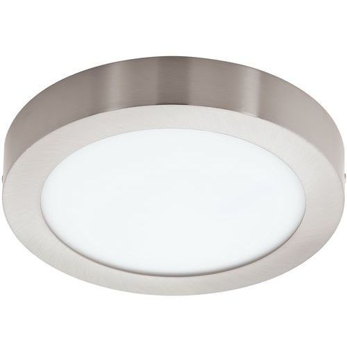 Plafon LAMPA sufitowa FUEVA 1 94525 Eglo natynkowa OPRAWA LED 16W okrągła nikiel satynowany, kolor nikiel