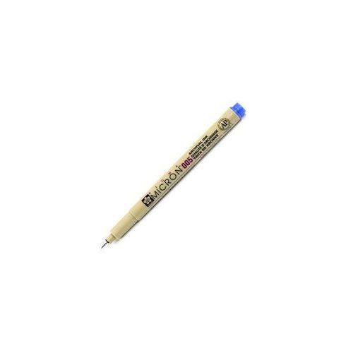 Sakura pigma 005 micron cienkopis 36 blue 0,2mm marki Bruynzeel/sakura