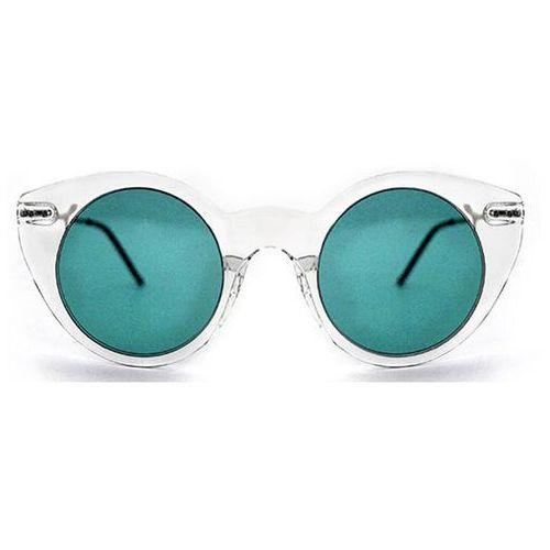 Spitfire Okulary słoneczne super symmetry tr90 clear/turquoise