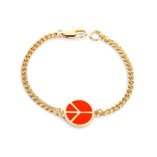 Exclusive bransoletka wyzwolona marchewkowa - marchewkowa marki Cloe