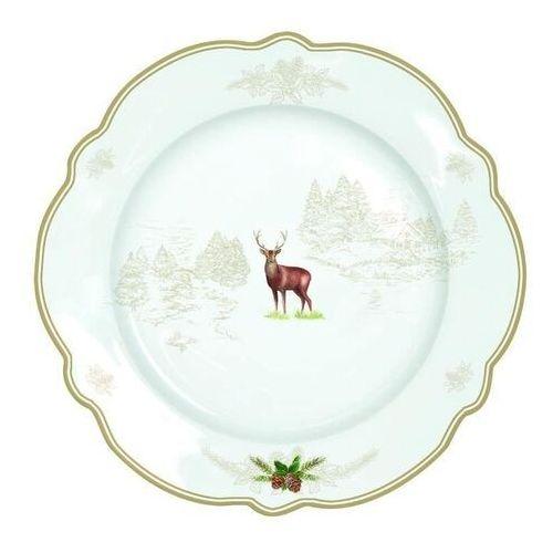 R2s - zestaw 4 deserowy talerz z porcelany w opakowaniu