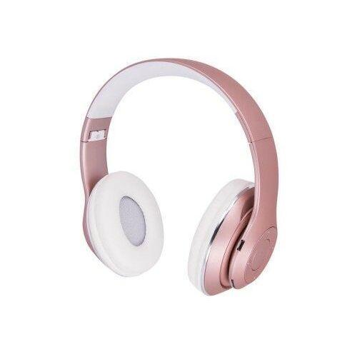 Słuchawki nauszne bluetooth Forever Music Soul BHS-300 różowe
