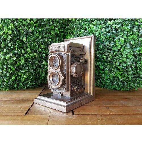 Steampunk podpórka do książek z zabytkową kamerą (wu76960v4) marki Veronese