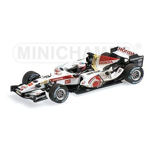 Honda f1 racing ra106 #12 jenson button winner hungary gp 2006 dirty version marki Minichamps
