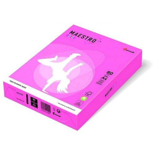 Maestro Papier ksero color a4 80g neonowy różowy neopi