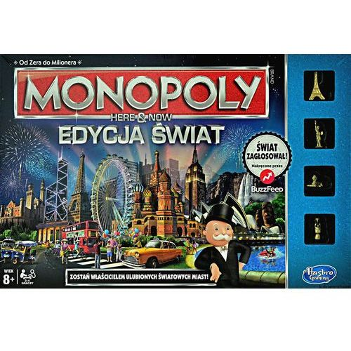 HASBRO Monopoly Gra Here and now, B2348