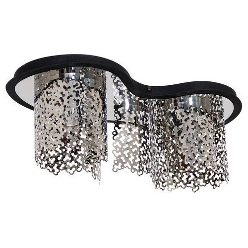 Sokeri lampa sufitowa 2-punktowa chrom 685h / czarna 685h/1 marki Aldex