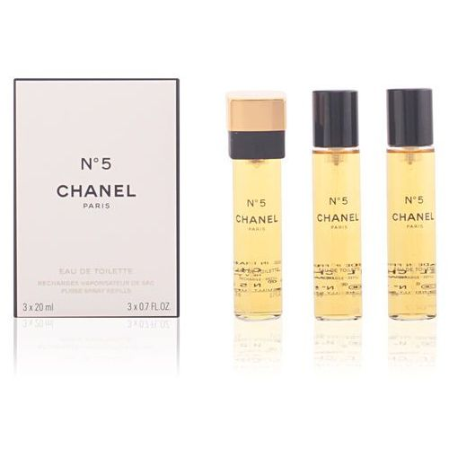 Chanel No.5 3x20ml W Woda toaletowa Wkład